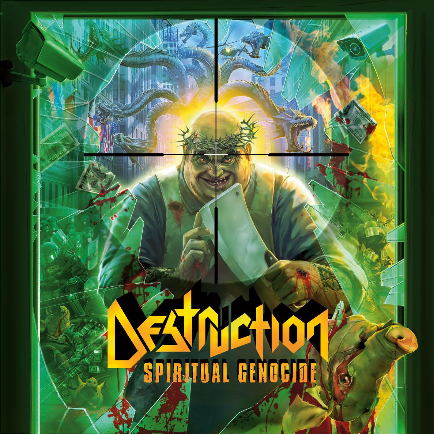 recensione destruction spiritual genocide. Black Bedroom Furniture Sets. Home Design Ideas